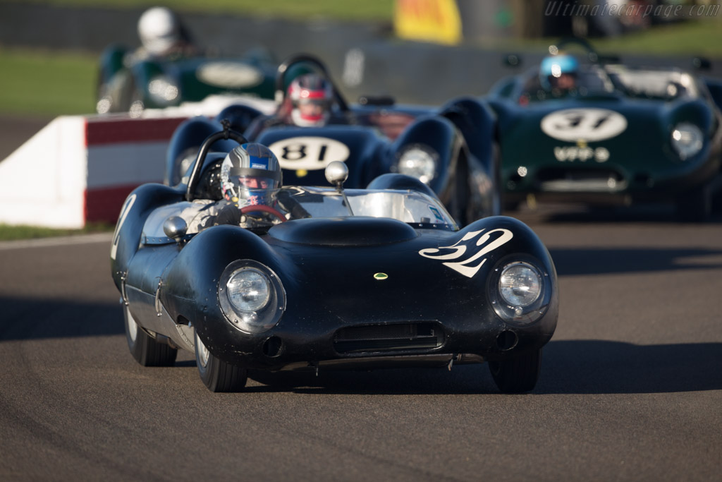 Lotus 15 - Chassis: 609 - Driver: Roger Wills  - 2016 Goodwood Revival