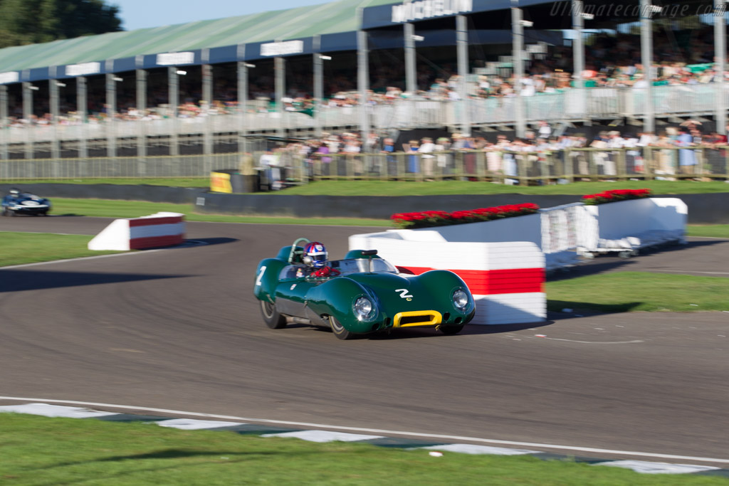 Lotus 15 - Chassis: 613 - Driver: Oliver Bryant - 2016 Goodwood Revival