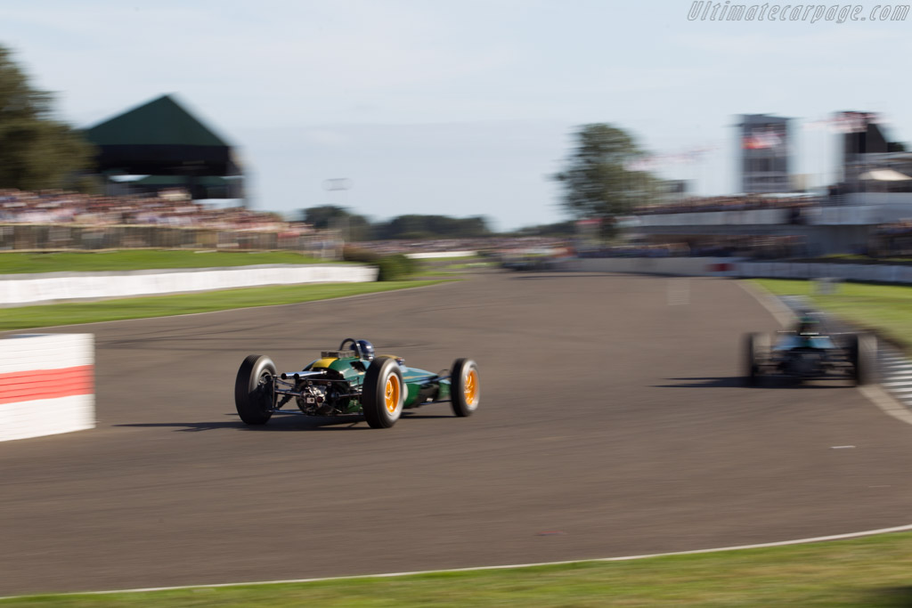 Lotus 25  - Driver: Nick Fennell  - 2016 Goodwood Revival