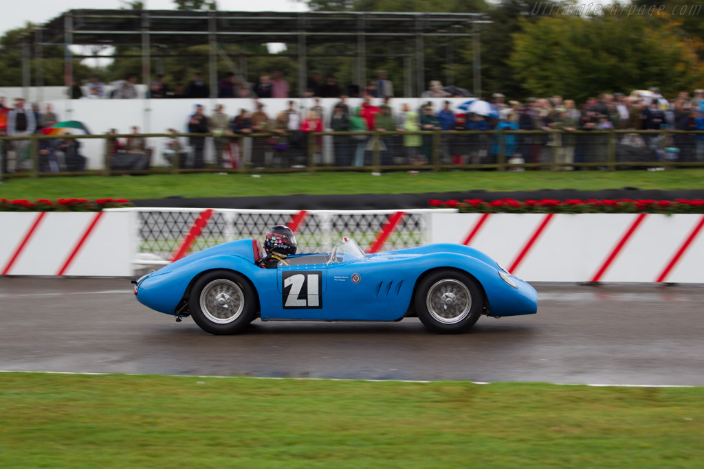 Maserati 200 Si - Chassis: 2401 - Driver: Gregor Fisken  - 2016 Goodwood Revival