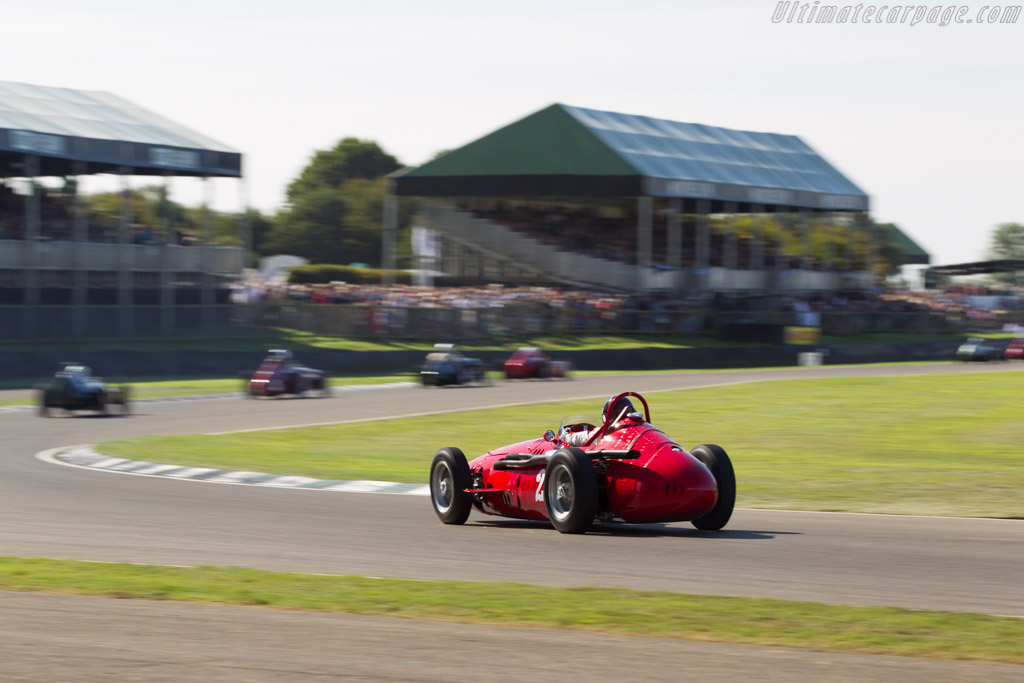 Maserati 250F - Chassis: 2522 - Driver: Christian Dumolin  - 2016 Goodwood Revival