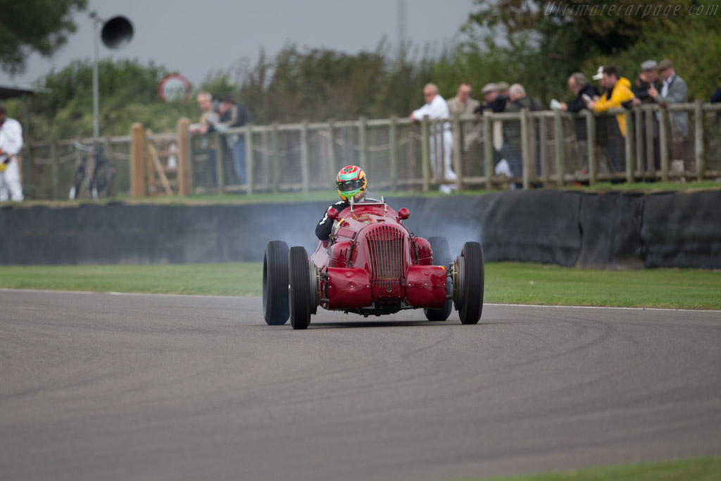 Maserati V8RI - Chassis: 4501 - Driver: Andy Wolfe  - 2016 Goodwood Revival