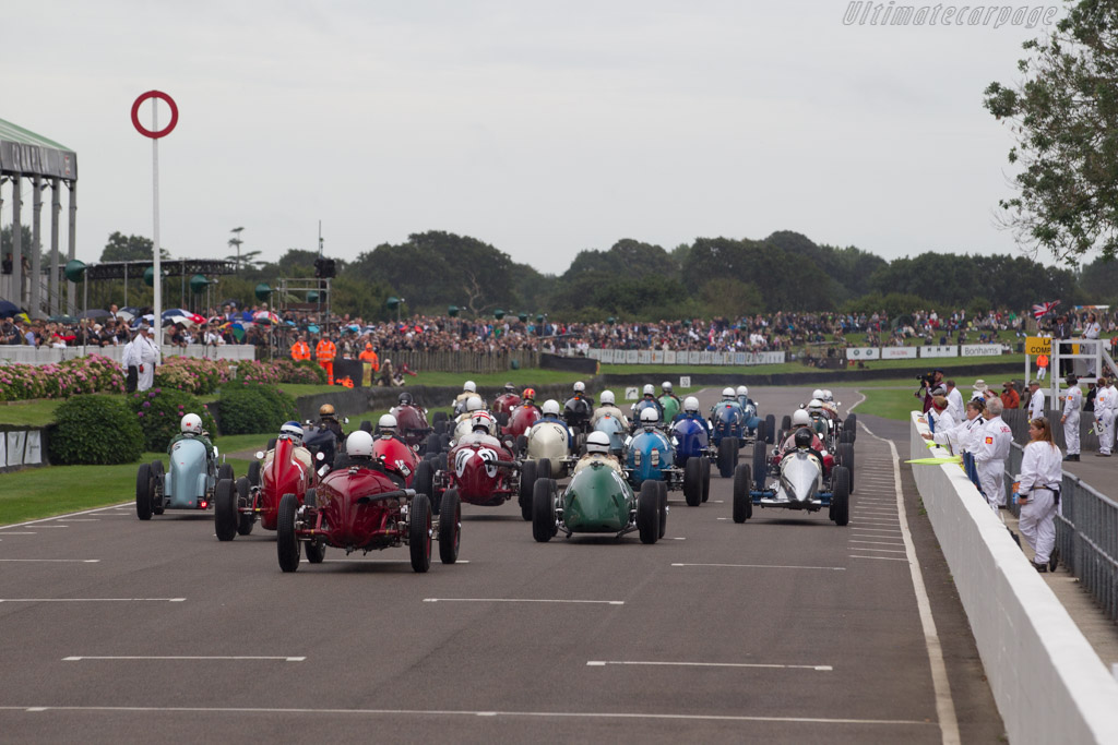 Off they go    - 2016 Goodwood Revival