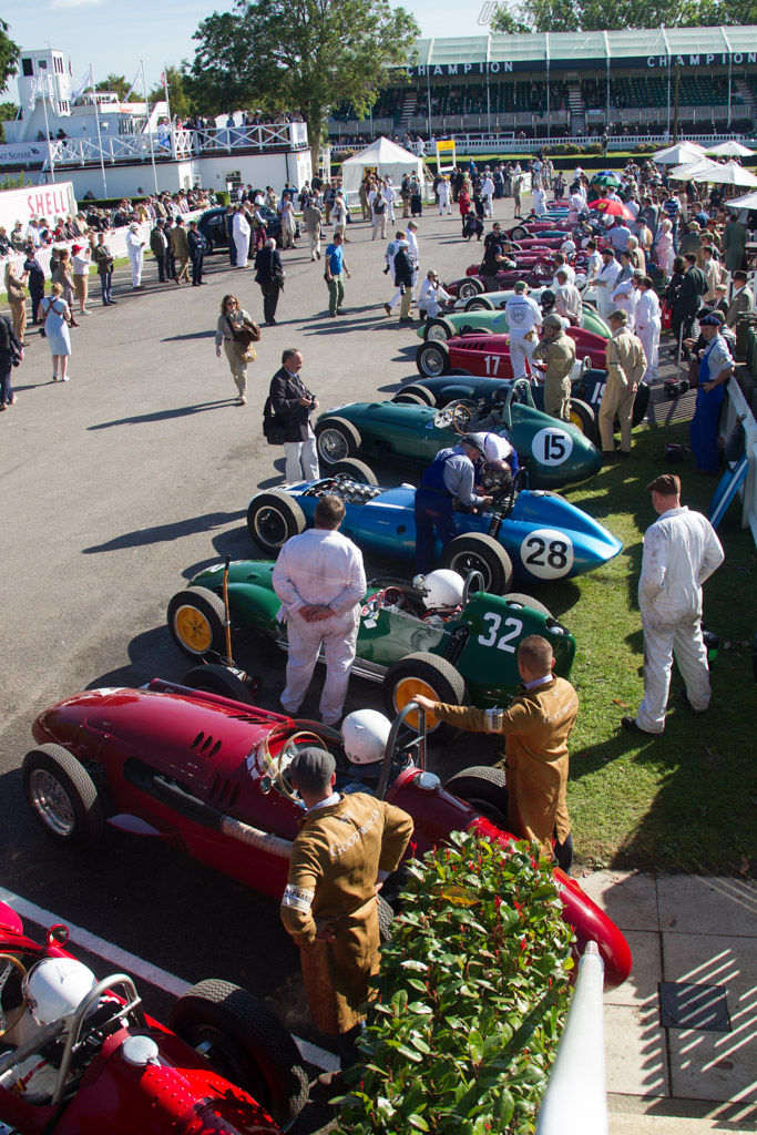 Ready to go    - 2016 Goodwood Revival