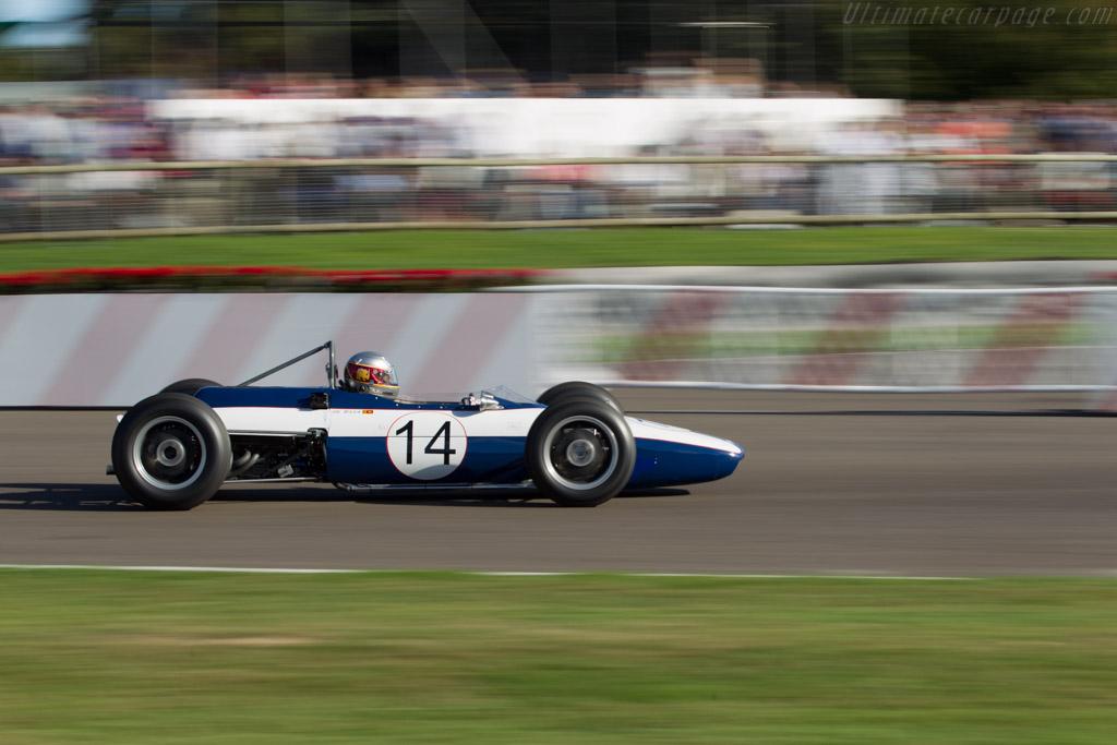 Scirocco-BRM - Chassis: SP-2-63 - Driver: Harindra de Silva  - 2016 Goodwood Revival