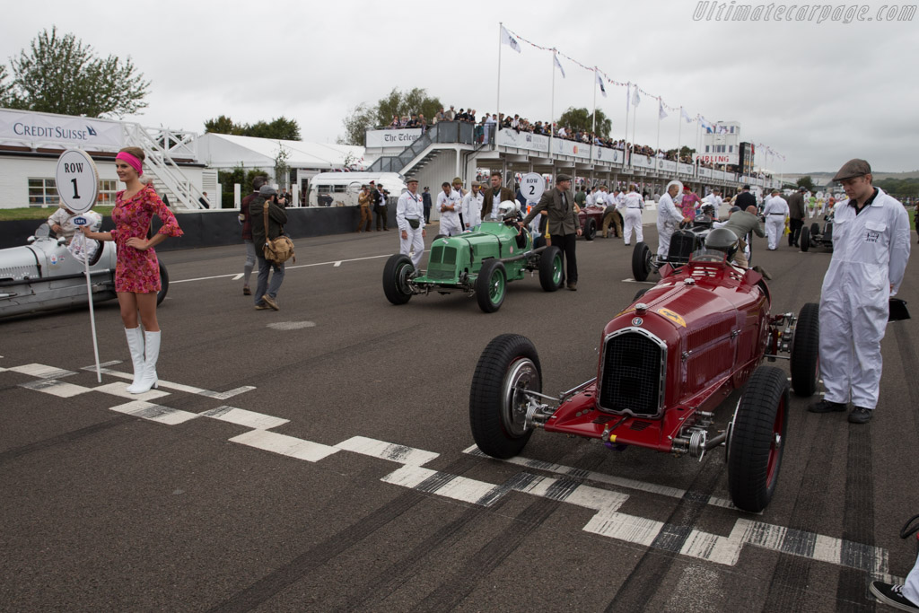 The Grid    - 2016 Goodwood Revival