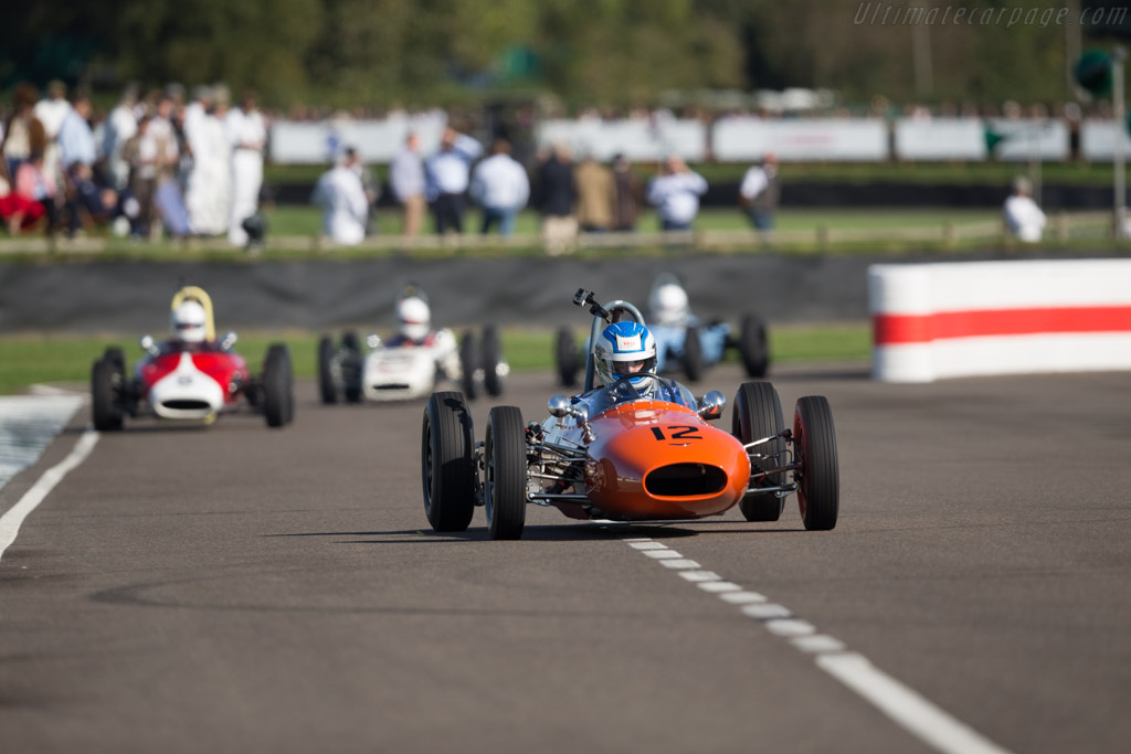 Alexis-Ford Mk3 - Chassis: HF401 - Entrant / Driver Stuart Roach  - 2017 Goodwood Revival