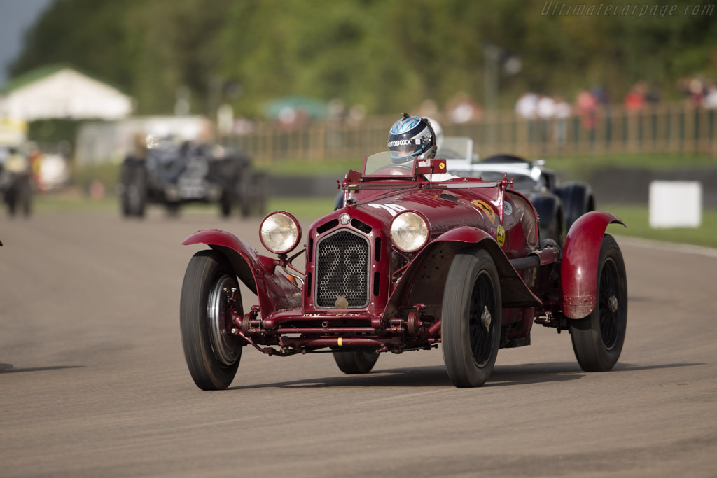 Alfa Romeo 8C 2300 Monza - Chassis: 2211120 - Entrant / Driver Moritz Werner  - 2017 Goodwood Revival