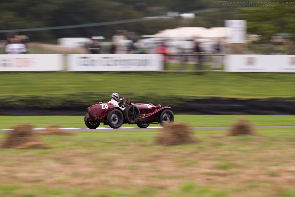 Alfa Romeo 8C 2300 Monza - Chassis: 2111120 - Entrant / Driver Moritz Werner  - 2017 Goodwood Revival