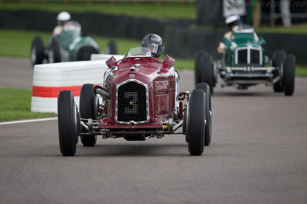 Alfa Romeo P3 - Chassis: 50004 - Entrant / Driver Stephan Rettenmaier  - 2017 Goodwood Revival