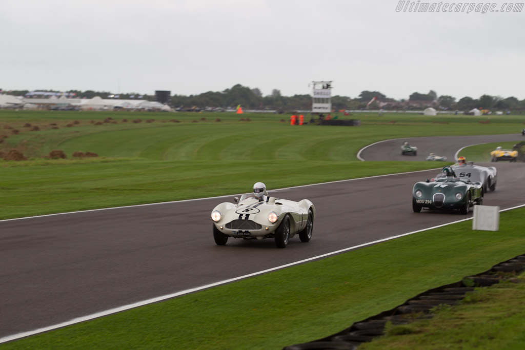 Aston Martin DB3S - Chassis: DB3S/115 - Entrant / Driver Gregor Fisken  - 2017 Goodwood Revival
