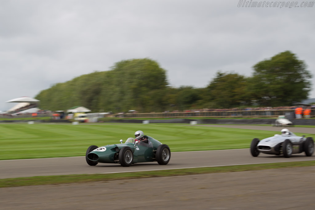 Aston Martin DBR4 - Chassis: 'DBR4/2' - Driver: David Wenman  - 2017 Goodwood Revival