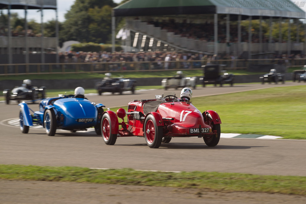 Aston Martin Ulster - Chassis: LM17 - Entrant: Ten Tenths - Driver: Holly Mason-Franchitti  - 2017 Goodwood Revival