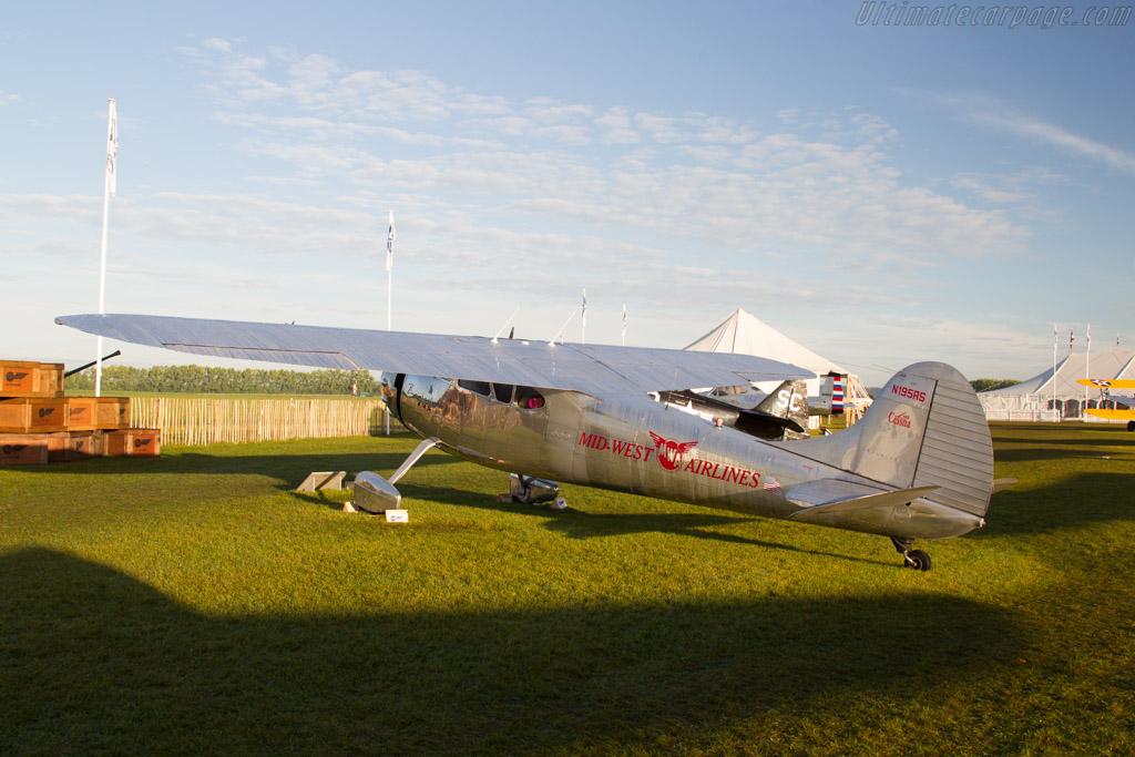 Cessna 195 Businessliner  - Entrant: Dirk Sadlowski  - 2017 Goodwood Revival