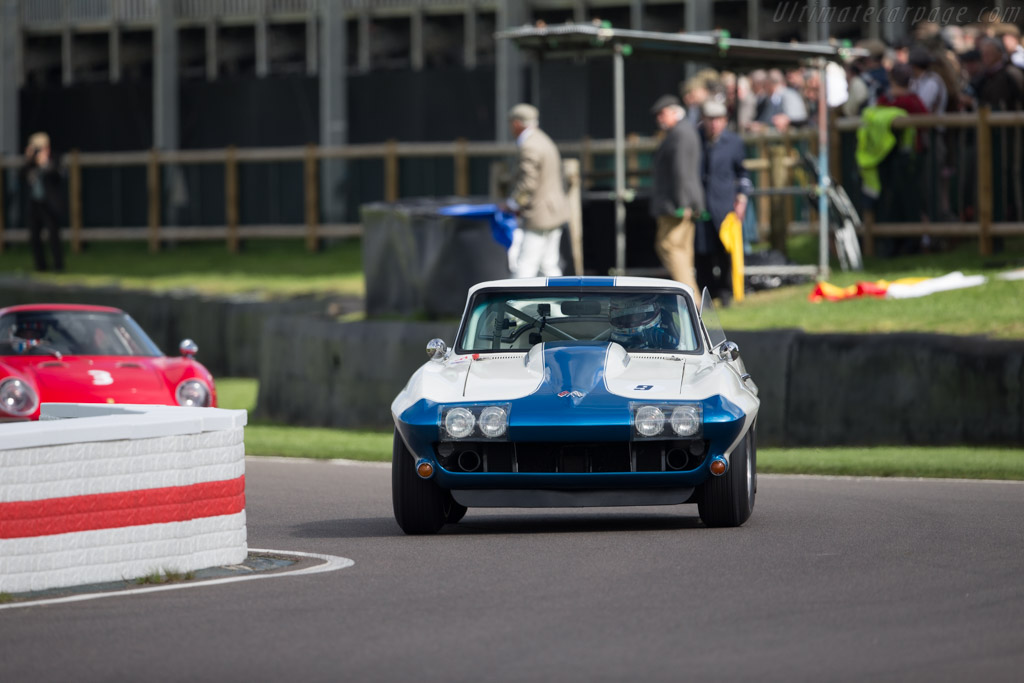 Chevrolet Corvette Stingray  - Entrant: Craig Davies - Driver: Craig Davies / Jason Plato  - 2017 Goodwood Revival