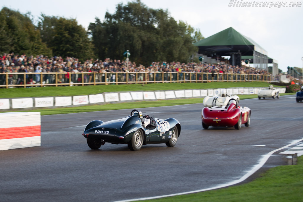 Cooper T33 Jaguar - Chassis: CJ-2-54 - Entrant / Driver Katarina Kyvalova  - 2017 Goodwood Revival