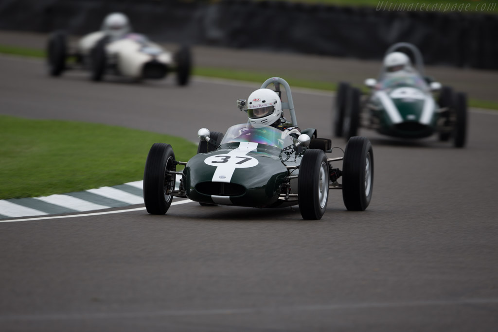 Cooper T56 Ford  - Entrant: Peter Green - Driver: Andrew Taylor  - 2017 Goodwood Revival