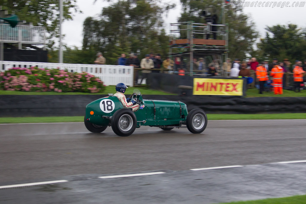 ERA R14B - Chassis: R14B - Entrant / Driver Chris MacAllister  - 2017 Goodwood Revival
