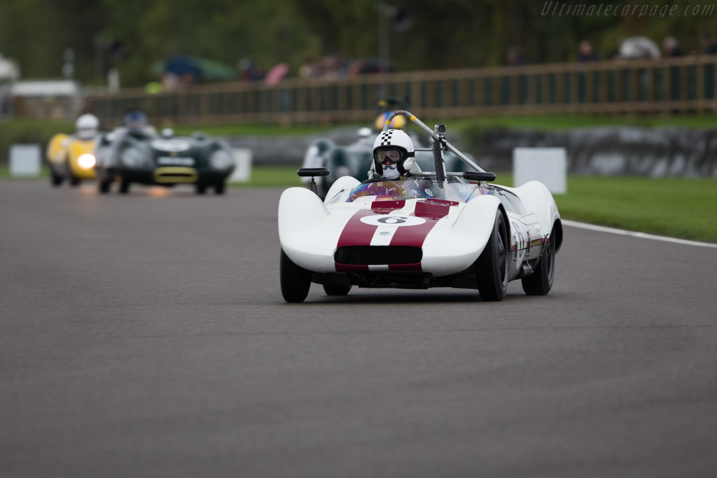 Elva MkV-Climax  - Entrant / Driver Ralf Emmerling  - 2017 Goodwood Revival