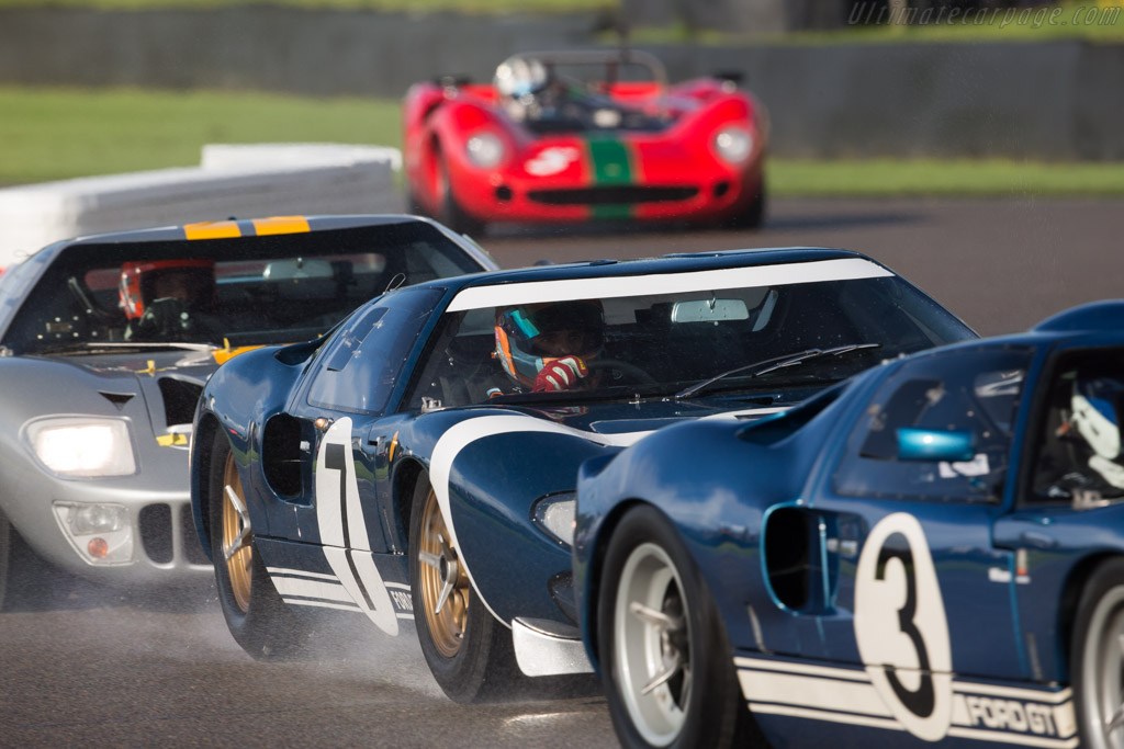 Ford GT40  - Entrant: Roald Goethe - Driver: Stuart Hall  - 2017 Goodwood Revival