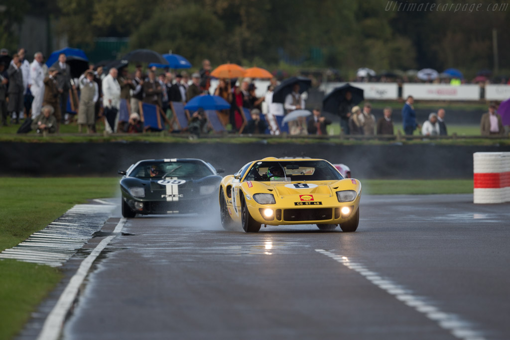 Ford GT40 - Chassis: GT40P/1079 - Entrant: Christopher Stahl - Driver: Nicholas Padmore  - 2017 Goodwood Revival