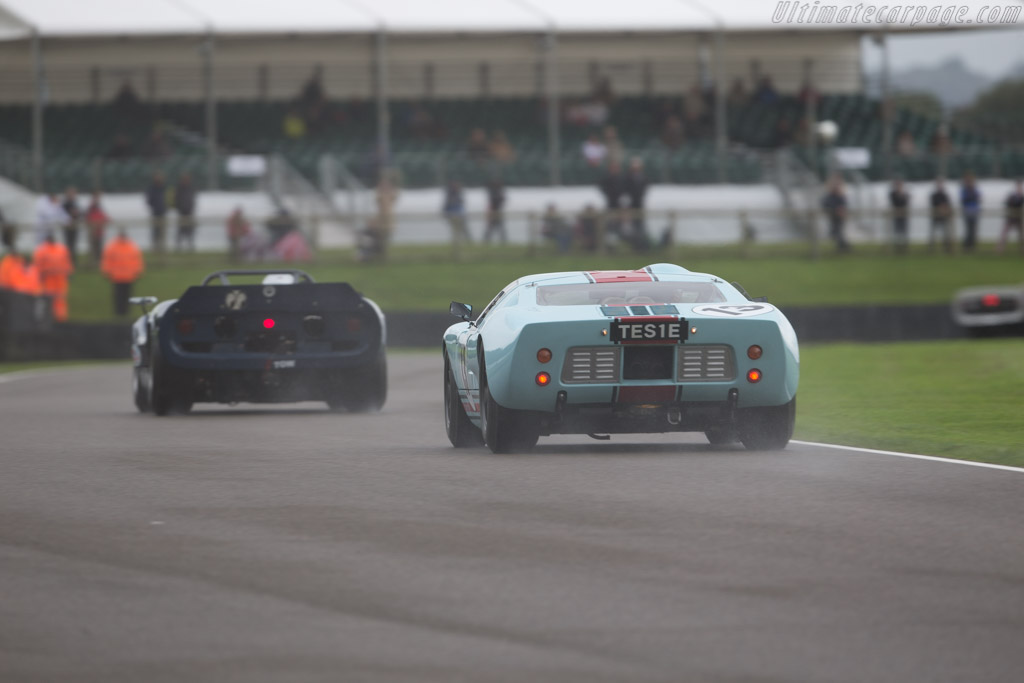 Ford GT40 - Chassis: GT40P/1025 - Entrant / Driver Shaun Lynn  - 2017 Goodwood Revival