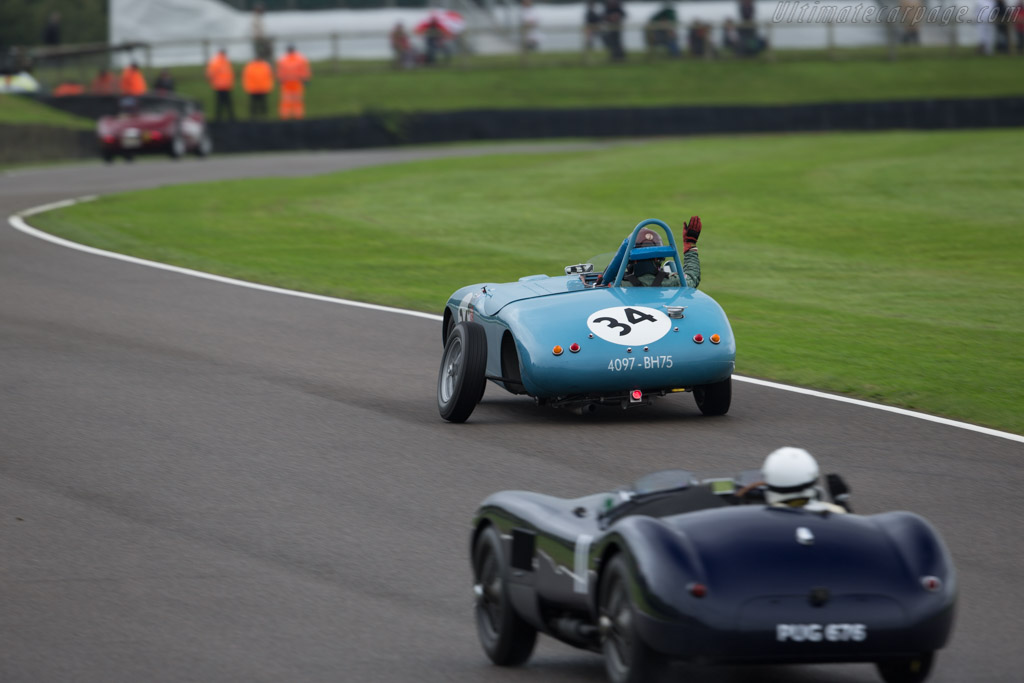 Gordini 23S  - Entrant / Driver Eddie McGuire  - 2017 Goodwood Revival