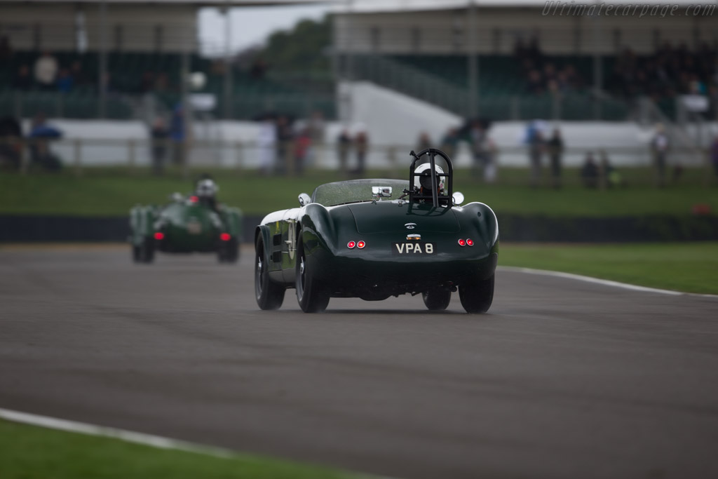 HWM Jaguar  - Entrant / Driver Martin Hunt  - 2017 Goodwood Revival
