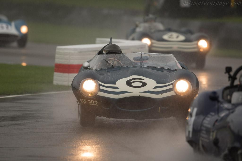 Jaguar D-Type Longnose - Chassis: XKD 504 - Entrant / Driver Christian Glaesel  - 2017 Goodwood Revival