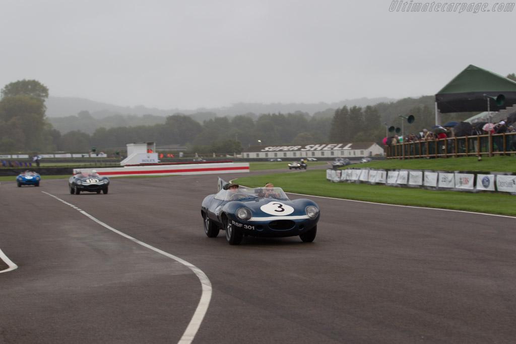 Jaguar D-Type Longnose - Chassis: XKD 606 - Entrant: Louwman Museum  - 2017 Goodwood Revival