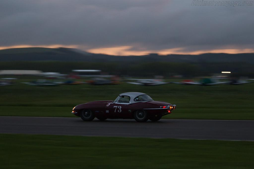 Jaguar E-Type - Chassis: 876176 - Entrant: Justin Conttingham - Driver: James Cottingham / Andrew Smith  - 2017 Goodwood Revival