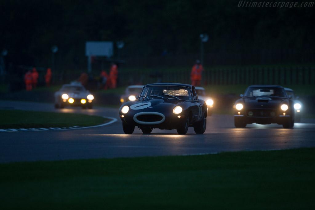 Jaguar E-Type  - Entrant: David Cooke - Driver: David Cooke / Anthony Hancock  - 2017 Goodwood Revival