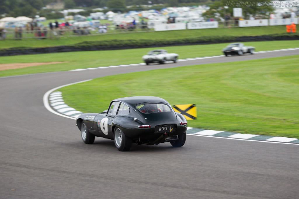 Jaguar E-Type FHC - Chassis: 860675 - Entrant: Marc Devis - Driver: Marc Devis / Martin O'Connell  - 2017 Goodwood Revival