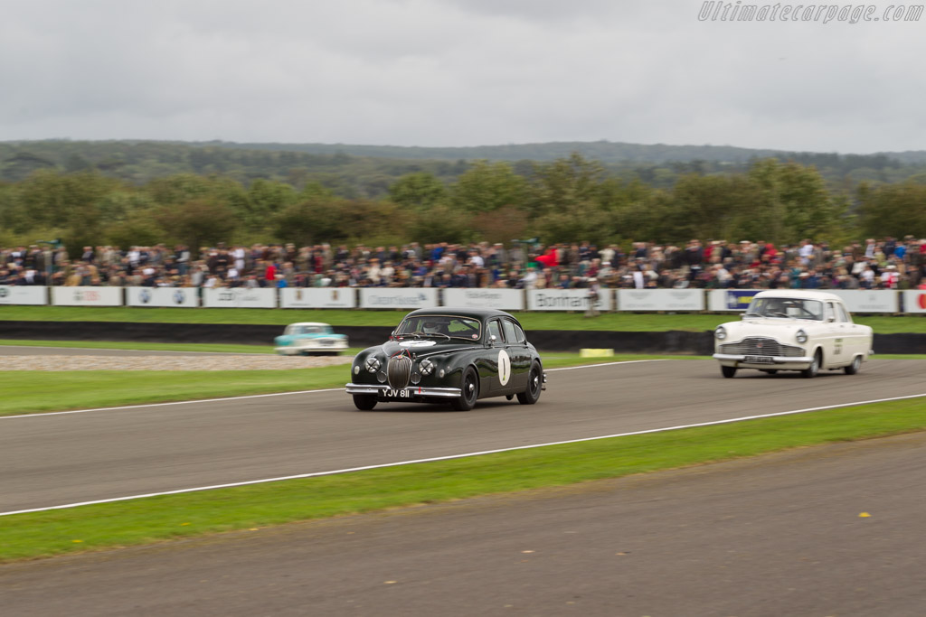 Jaguar Mk1  - Entrant: Guy Harman - Driver: Charles Settrington  - 2017 Goodwood Revival