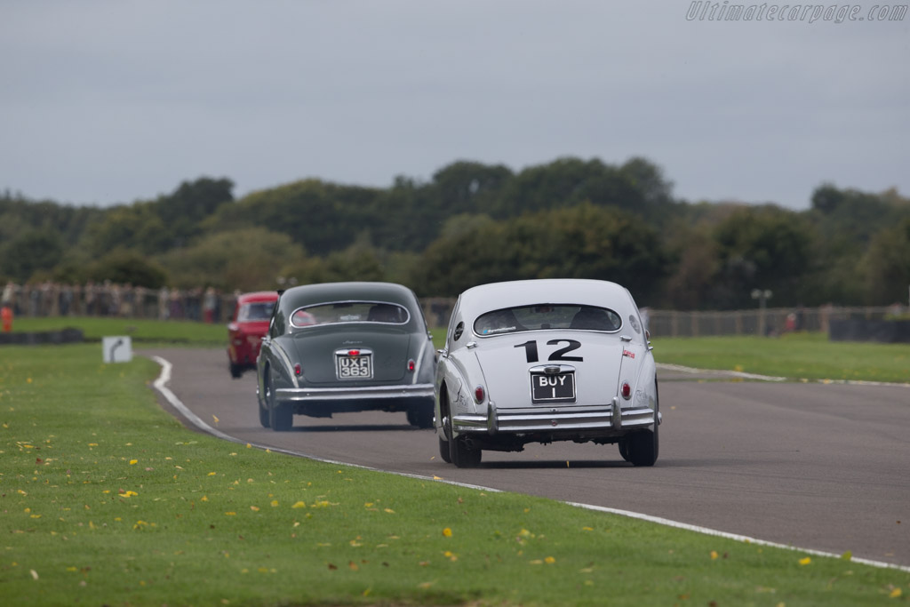 Jaguar Mk1 - Chassis: S976897DN - Entrant: Anthony Williams - Driver: Grant Williams  - 2017 Goodwood Revival