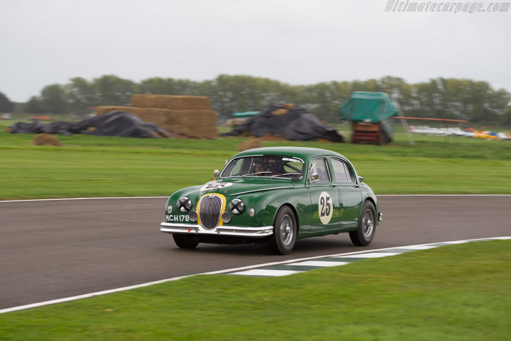 Jaguar Mk1 - Chassis: S972434DN - Entrant: Trade-Air Ltd - Driver: John Young  - 2017 Goodwood Revival