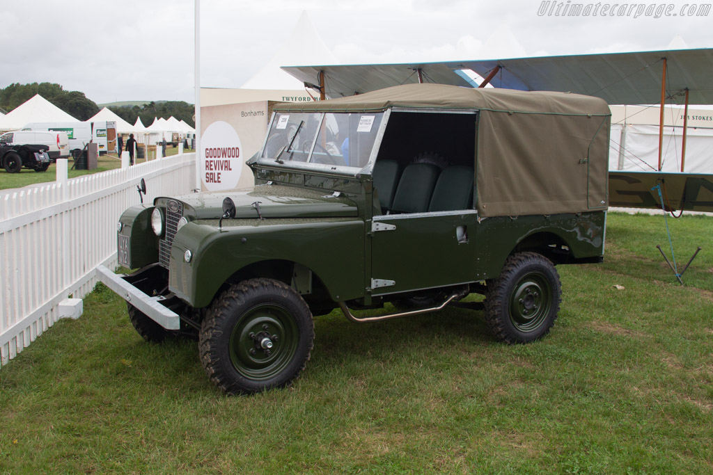 Land Rover Series I - Chassis: 57105465   - 2017 Goodwood Revival