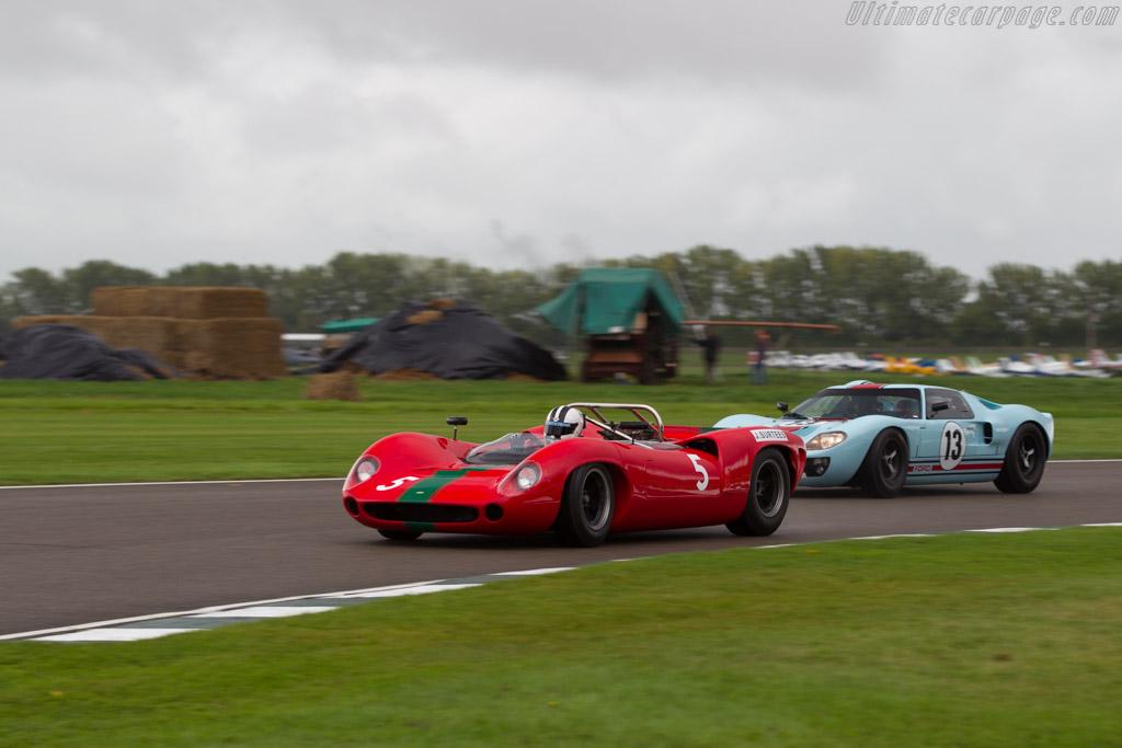 Lola T70 Mk1 Spyder  - Entrant: Grant Reid - Driver: Tony Sinclair  - 2017 Goodwood Revival