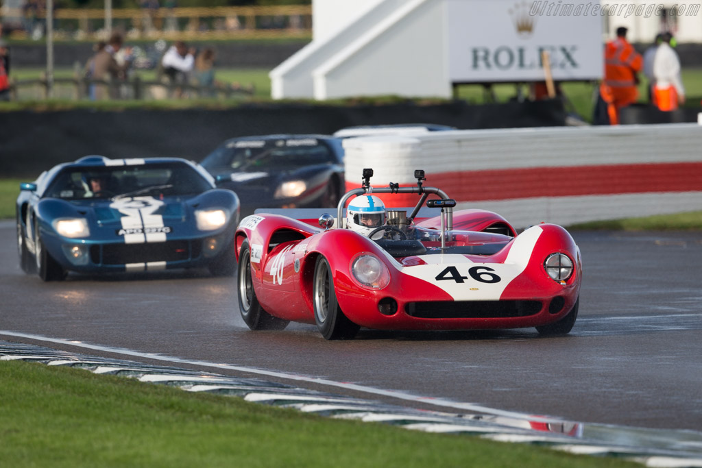Lola T70 Mk2 Spyder - Chassis: SL71/48 - Entrant / Driver Mike Whitaker  - 2017 Goodwood Revival