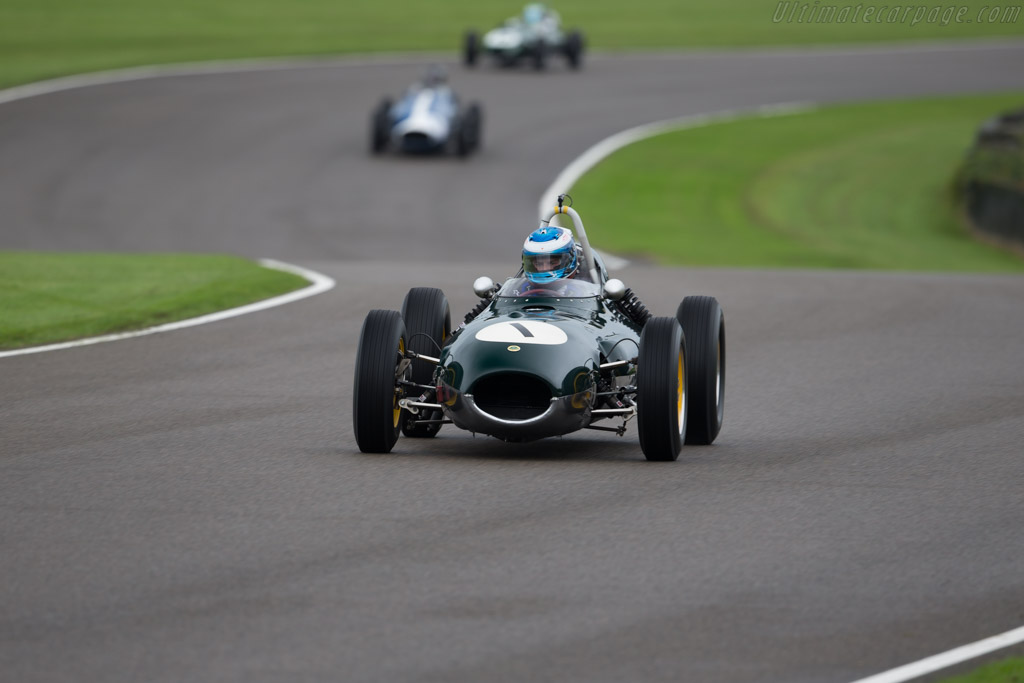 Lotus 16 Climax - Chassis: 368 - Entrant: Philip Walker - Driver: Miles Griffiths  - 2017 Goodwood Revival
