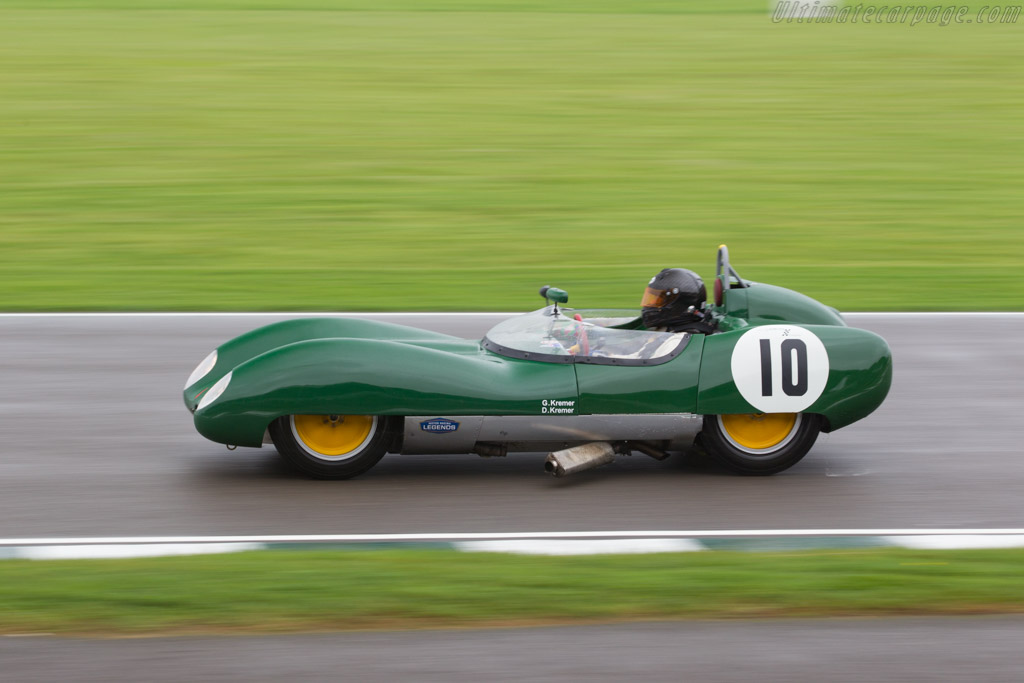 Lotus 17 Climax - Chassis: 652 - Entrant / Driver Dion Kremer - 2017 Goodwood Revival