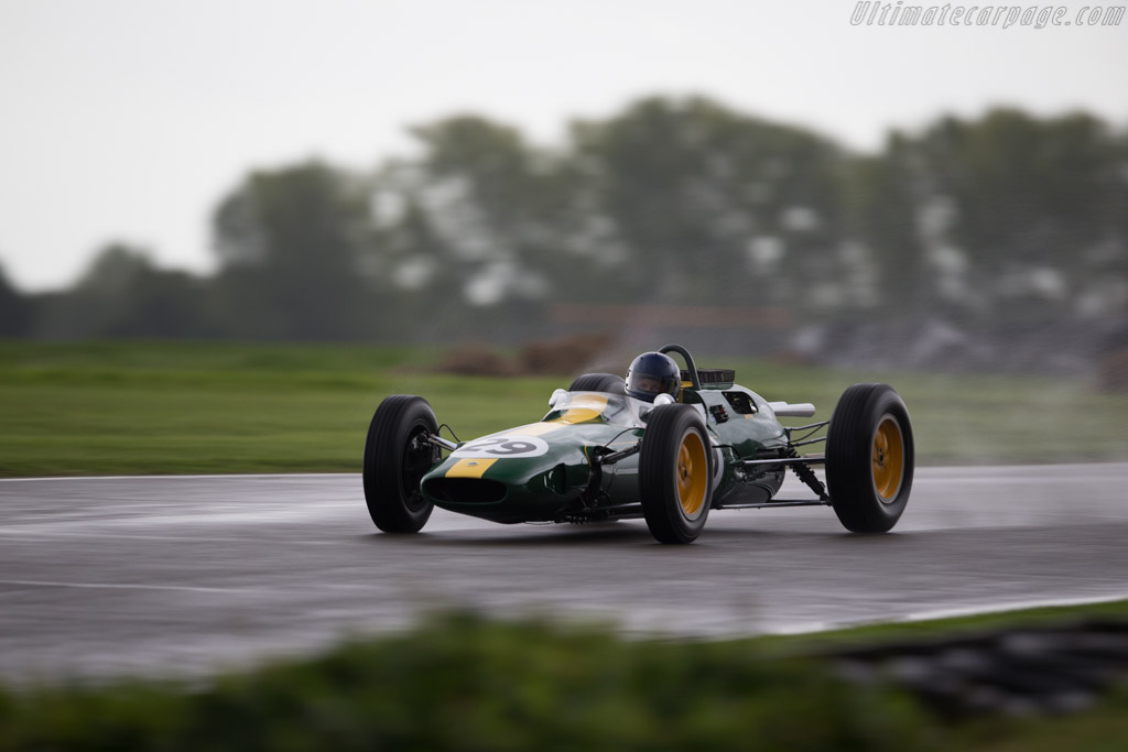 Lotus 25 Climax  - Entrant / Driver Nick Fennell  - 2017 Goodwood Revival