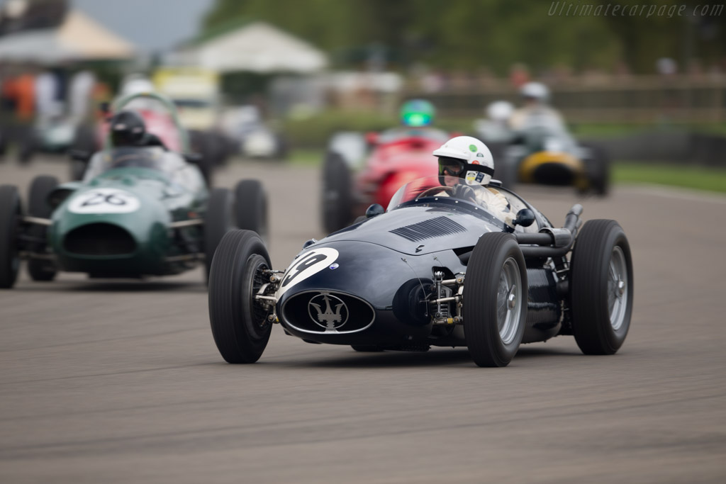 Maserati 250F - Chassis: 2504 (2509) - Entrant: Christian Glaesel - Driver: Gary Pearson - 2017 Goodwood Revival