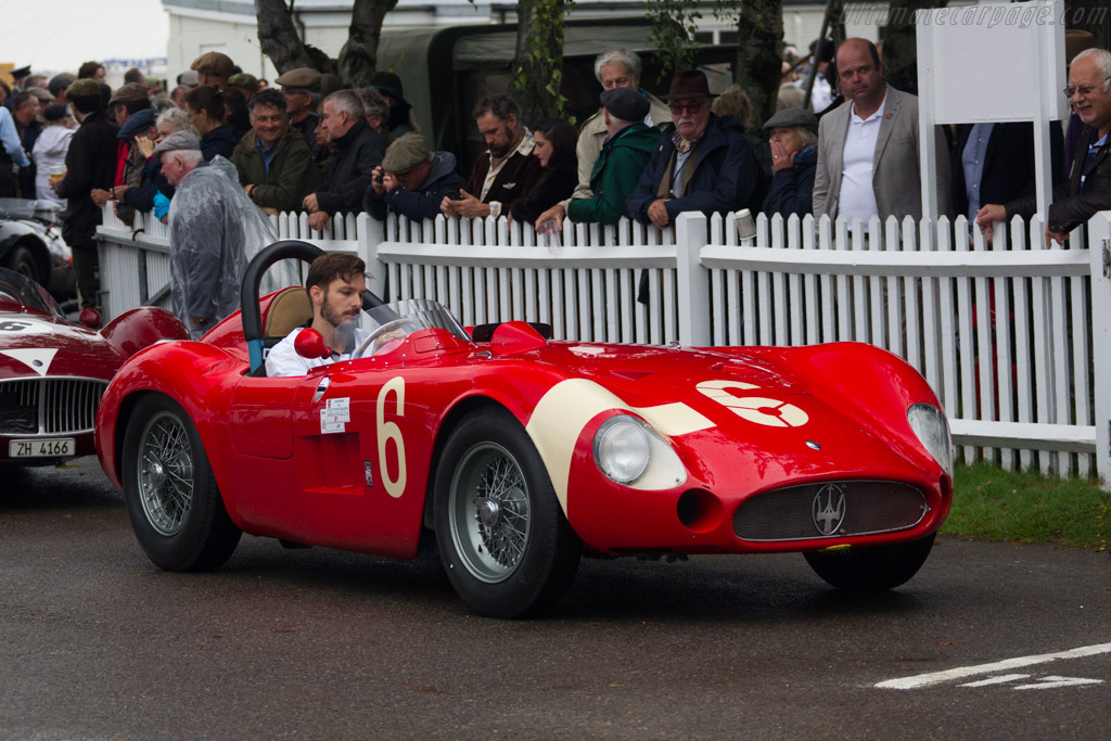 Maserati 300 S - Chassis: 3059 - Entrant: Scuderia del Viadotto - Driver: Carlo Vögele  - 2017 Goodwood Revival
