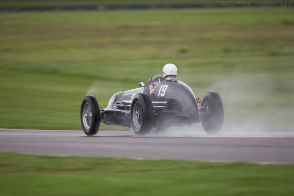 Maserati 8CL - Chassis: 3035 - Entrant / Driver Josef Otto Rettenmaier  - 2017 Goodwood Revival