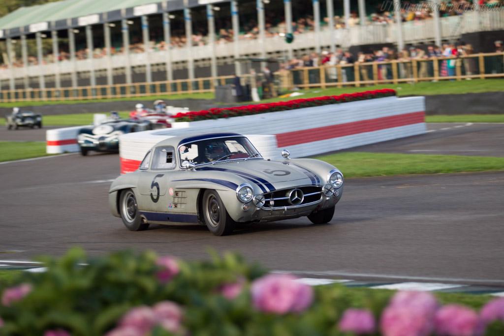 Mercedes-Benz 300 SL  - Entrant: Hans Kleisl - Driver: Jochen Mass  - 2017 Goodwood Revival