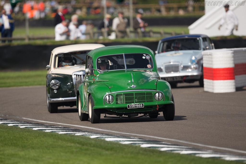 Morris Minor  - Entrant: Paul Alcock - Driver: Rauno Aaltonen  - 2017 Goodwood Revival