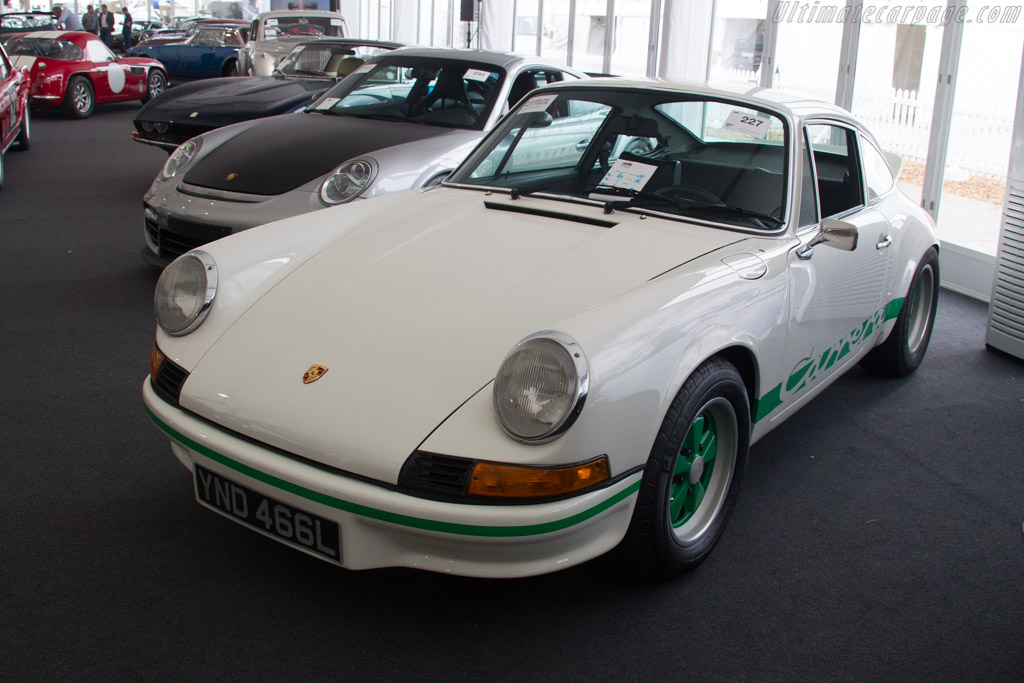 Porsche 911 Carrera RS 2.7 - Chassis: 911 360 0936   - 2017 Goodwood Revival