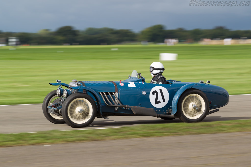Riley Sprite - Chassis: 44T2419 - Entrant / Driver Ralf Emmerling  - 2017 Goodwood Revival
