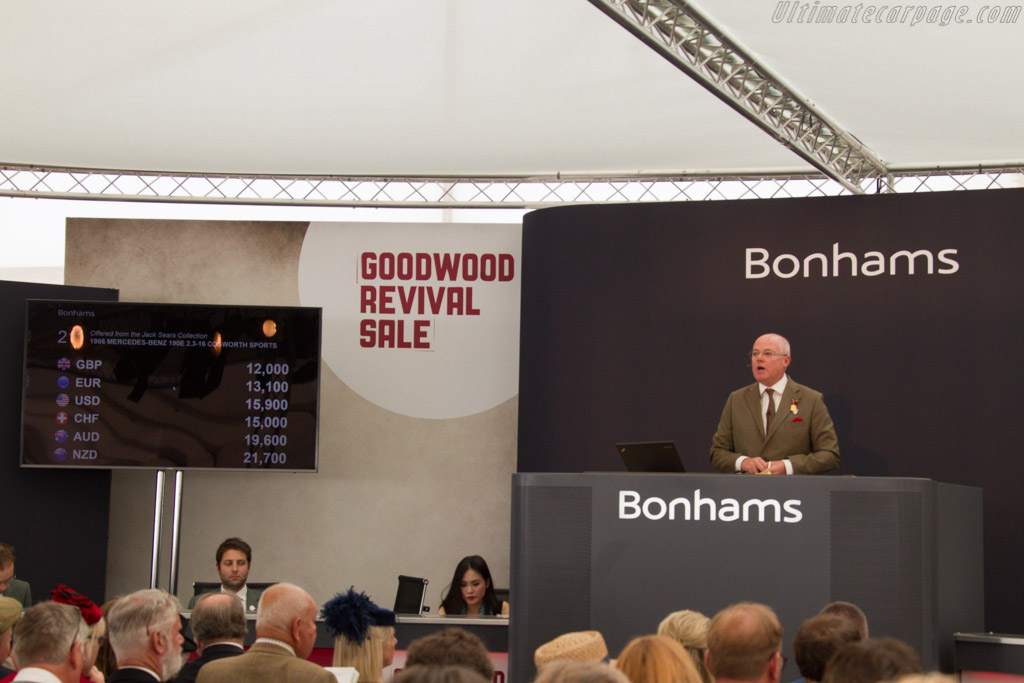 Welcome to the Bonhams Auction    - 2017 Goodwood Revival